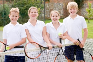 kids' summer tennis camp