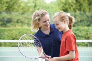 tennis lessons for girls